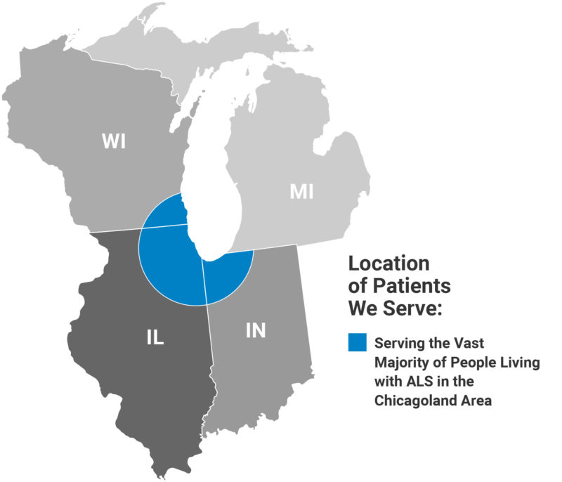 Locations of Patients We Serve