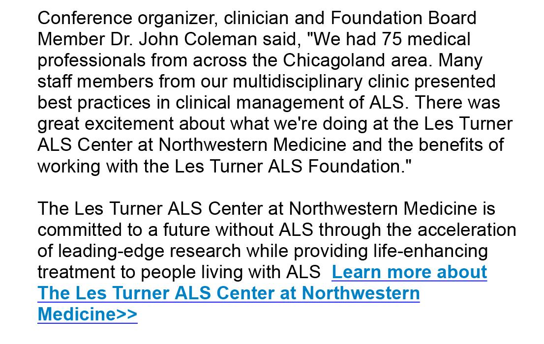Les Turner ALS Foundation - Les Turner ALS Foundation