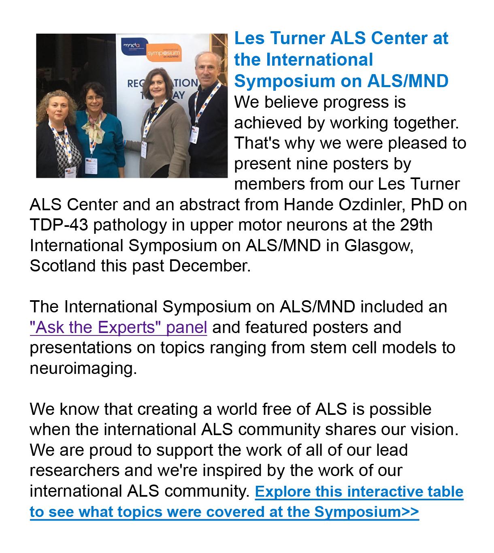 January 2019 Foundation eNews-4 - Les Turner ALS Foundation
